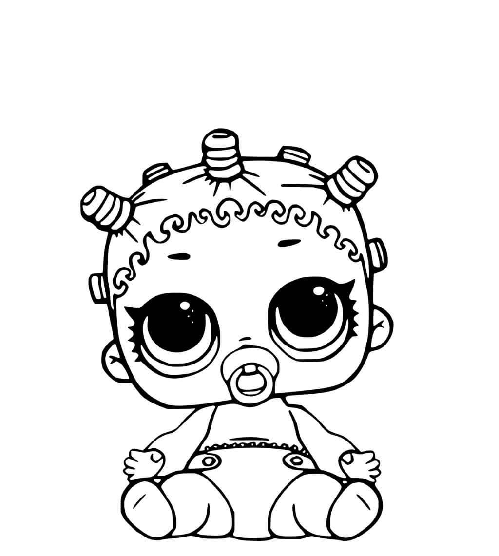 Desenhos Para Colorir Das Bonecas Lol Surpresa Febre Do