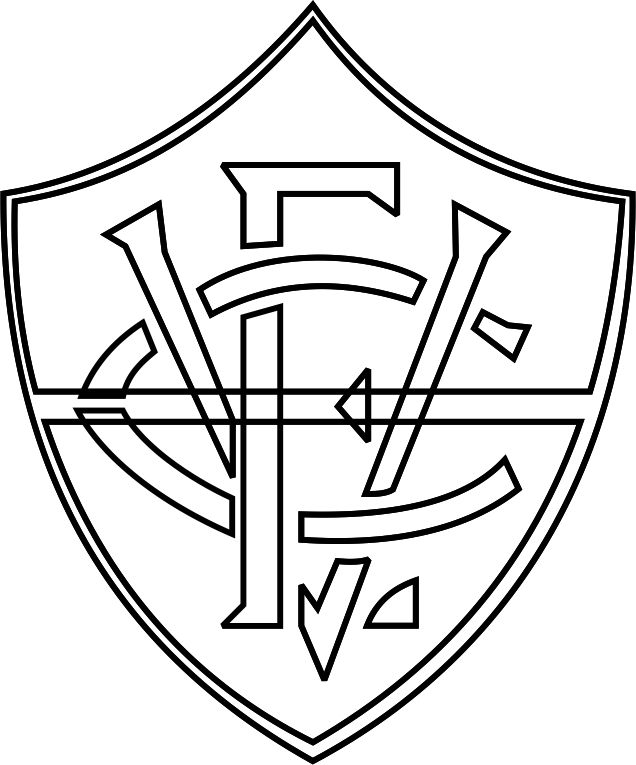 Emblema Do Vitoria De Salvador Ba Para Colorir 21