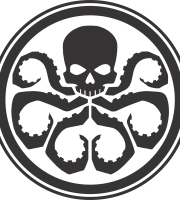 Hydra Marvel Shield Logo PNG