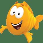 Imagem de Personagens Bublle Guppies – Mr. Grouper PNG
