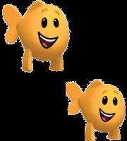 Imagem de Personagens Bublle Guppies - Peixes