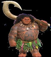 Imagem de Personagens Moana - Maui