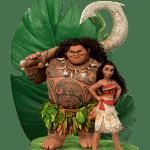 Imagem de Personagens Moana -Moana e Maui 2 PNG