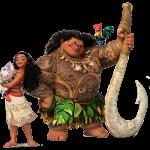 Imagem de Personagens Moana -Moana e Maui PNG