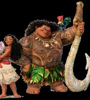 Imagem de Personagens Moana -Moana e Maui