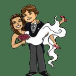 Imagens png de noivos casamento 46