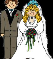 Imagens png de noivos casamento 48
