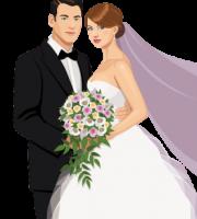 Imagens png de noivos casamento 50