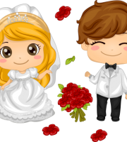 Imagens png de noivos casamento 52