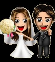 Imagens png de noivos casamento 54