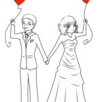 Imagens png de noivos casamento 56