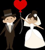 Imagens png de noivos casamento 57