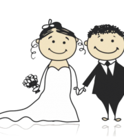 Imagens png de noivos casamento 59