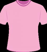Mockup Camiseta Rosa Editável