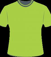 Mockup Camiseta Verde Editável