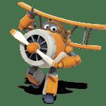 Super Wings – Albert Super Wings 2 PNG