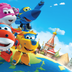 Super Wings – Background Super Wings 2 PNG