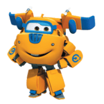 Super Wings – Donnie Super Wings 3 PNG
