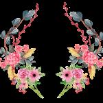 Modelo, Imagem de Flores2 em png para casamento