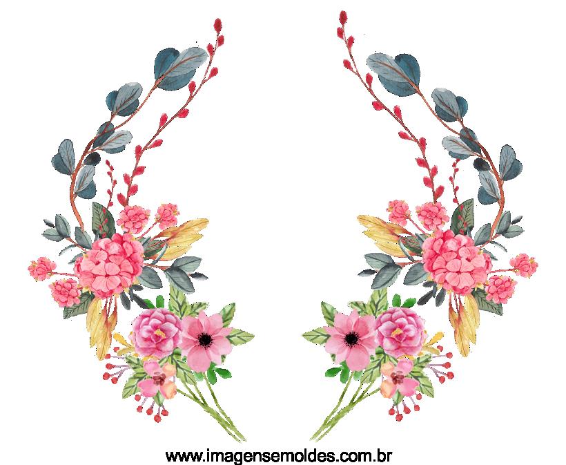 Modelo, imagem de flores 2 para casamento
