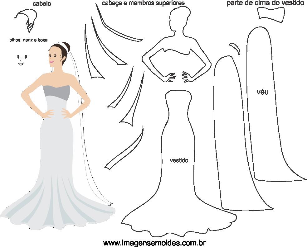 Molde de casamento 8 para eva, feltro e artesanato, wedding mold, Hochzeitsform, molde de boda