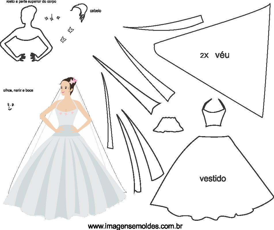 molde de casamento 7 para eva, feltro e artesanato, wedding mold, Hochzeitsform, molde de boda