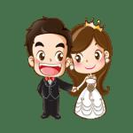 Imagens png de noivos casamento 02