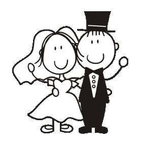 Imagens png de noivos casamento 07