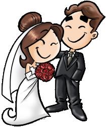 Imagens png de noivos casamento 08
