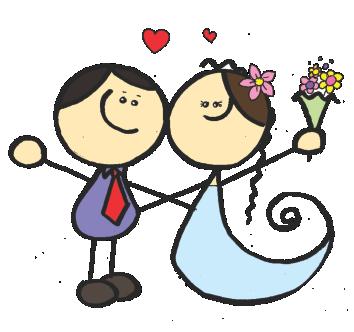 Imagens png de noivos casamento 14