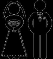 Arquivos Desenhos De Noivinhos Para Convite De Casamento Para Baixar