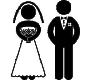 Imagens png de noivos casamento 17