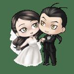 Imagens png de noivos casamento 20