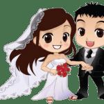 Imagens png de noivos casamento 21