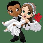 Imagens png de noivos casamento 24