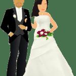 Imagens png de noivos casamento 26