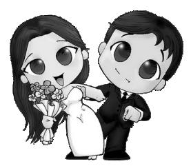Imagens png de noivos casamento 30
