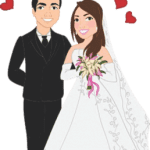 Imagens png de noivos casamento 35