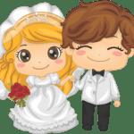 Imagens png de noivos casamento 41