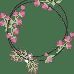 Modelo, Imagem de Flores 4 em png para casamento