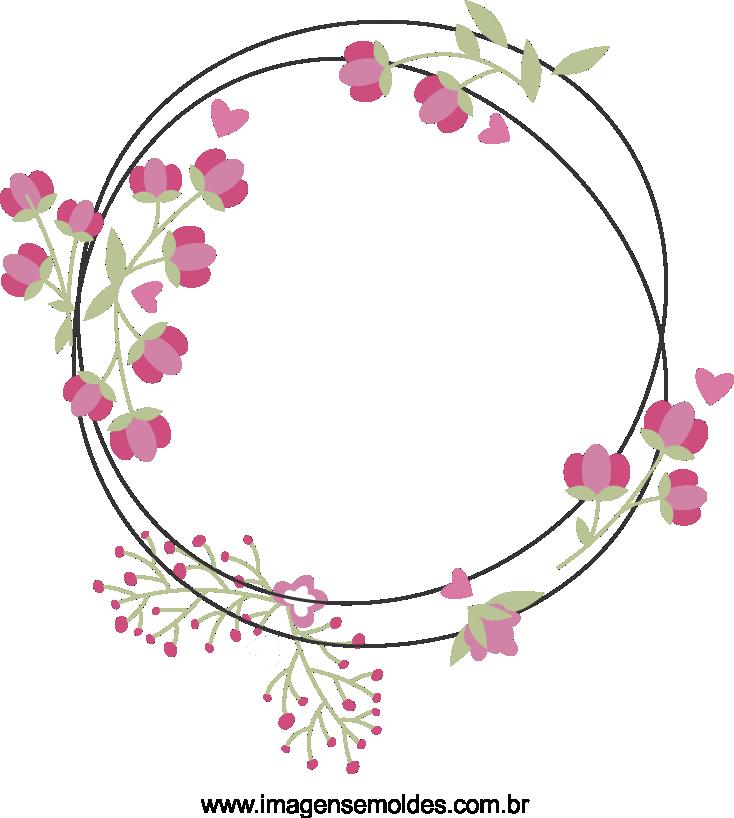 Modelo, Imagem de Flores 4 em png para ca