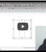Como Fazer Tabela Básica Facilmente No Corel Draw