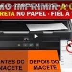 Como Imprimir a Cor CORRETA – Macete Cores Fiéis à TELA