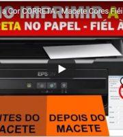 Como Imprimir a Cor CORRETA - Macete Cores Fiéis à TELA