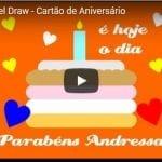Curso de Corel Draw – Cartão de Aniversário