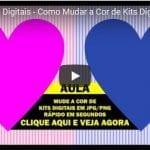 Curso de Kits Digitais – Como Mudar a Cor de Kits Digitais