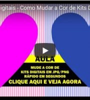 Curso de Kits Digitais - Como Mudar a Cor de Kits Digitais