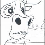 Desenhos para colorir O Touro Ferdinando