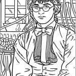 Desenhos para colorir do Harry Potter