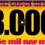 Ganhe 3000 por mês com o Corel Draw